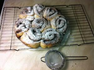 Yeast Free Cinnamon Buns