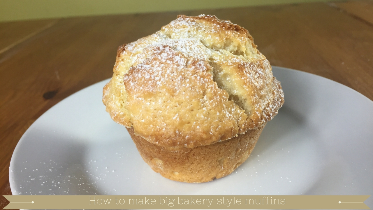 How to make big bakery style muffins - meadow brown bakery