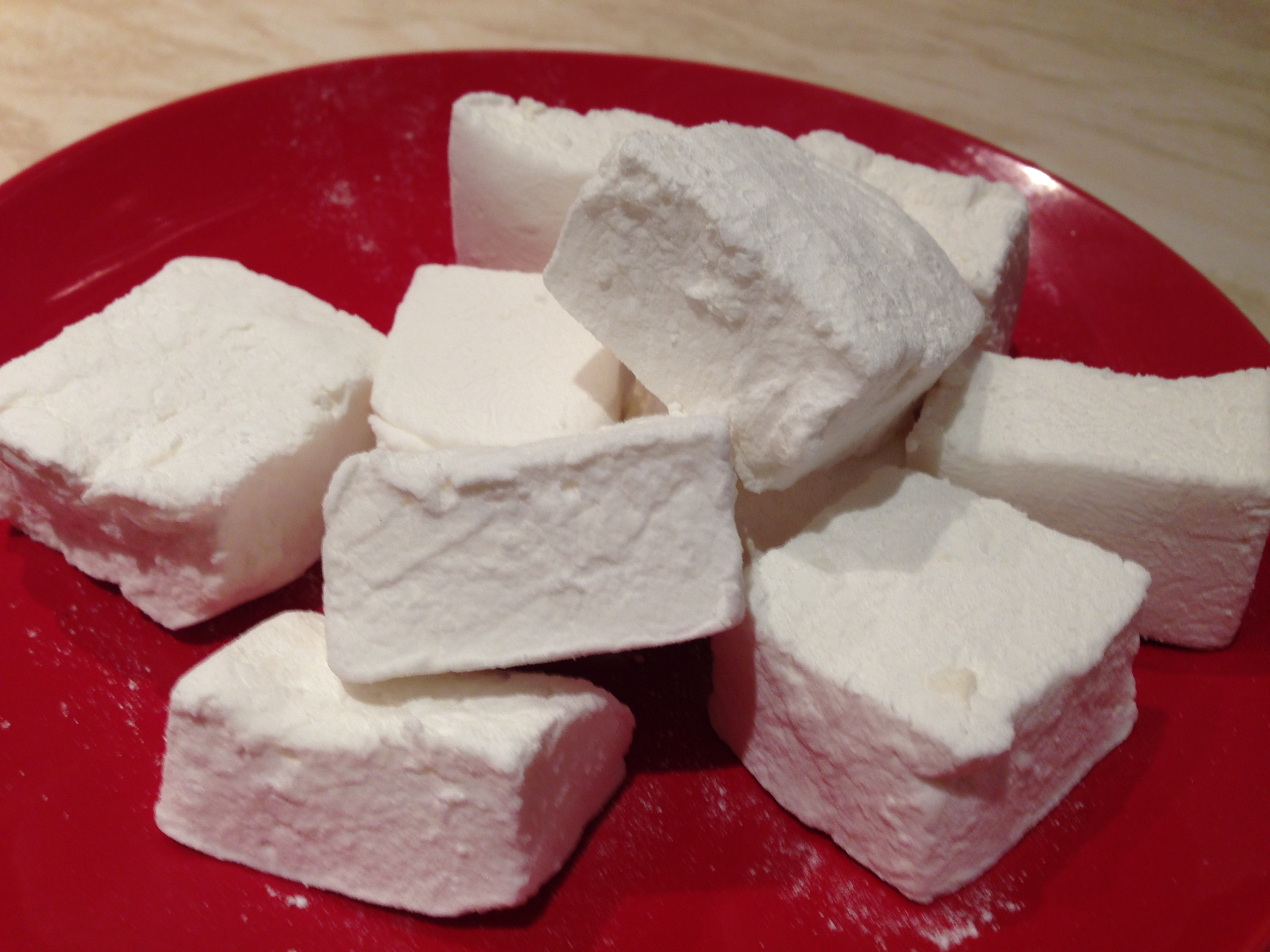 Home made marshmalow