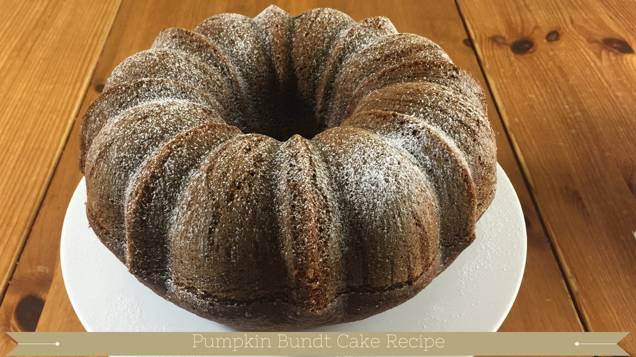 Pumpkin Bundt Cake Recipe - meadow brown bakery