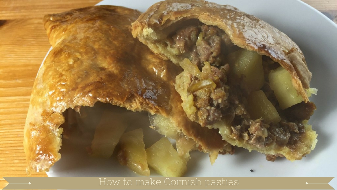 How to make Cornish pasties and how to make shortcrust pastry - meadow brown bakery