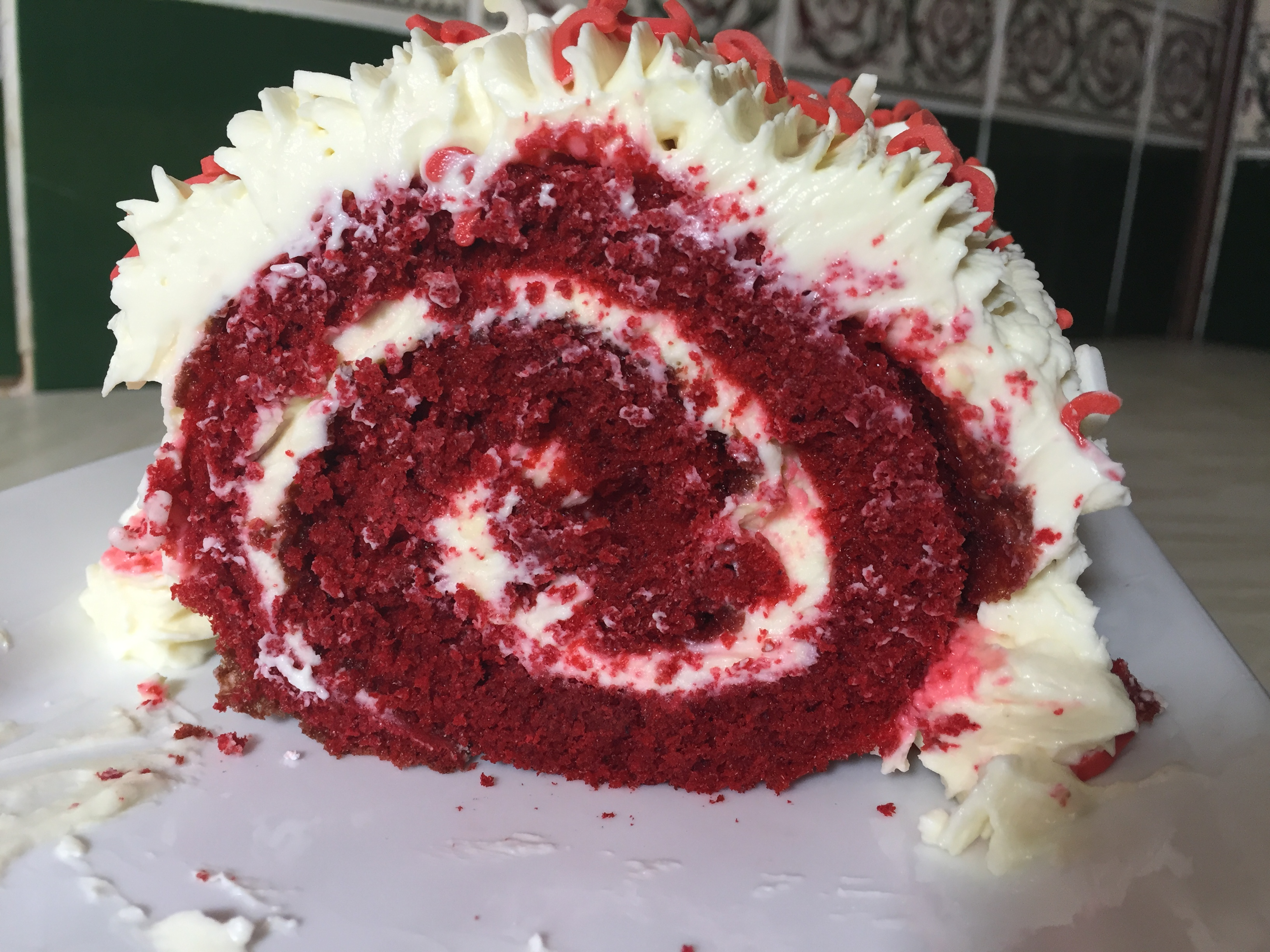 Red Velvet Swiss Roll