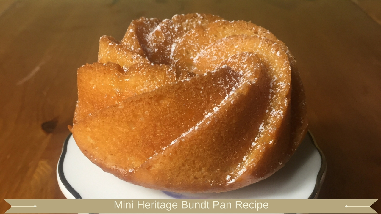 Mini Heritage Bundt Pan Recipe - meadow brown bakery