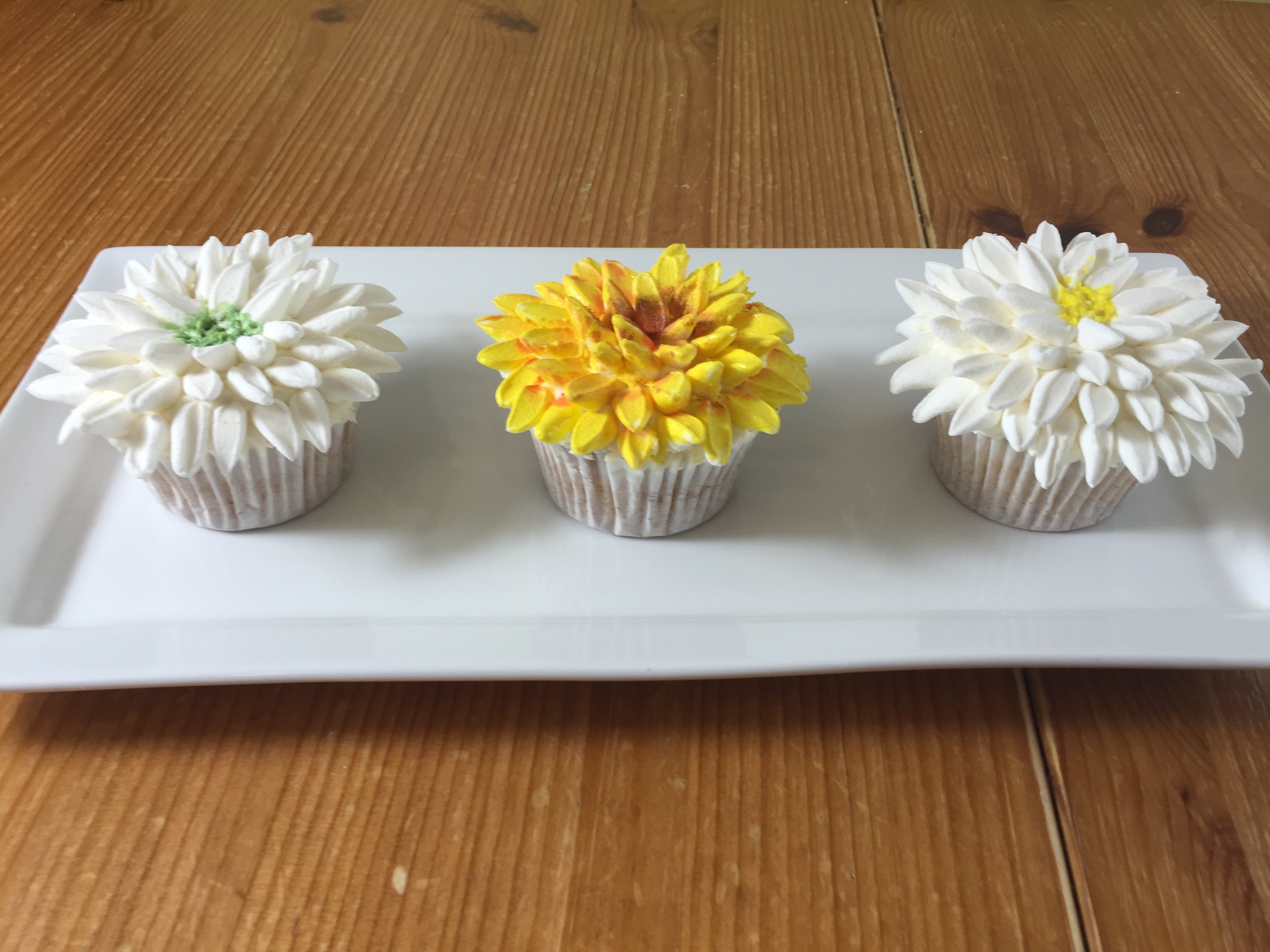 How to make marshmallow chrysanthemums