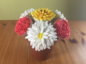 marshmallow flowers Chrysanthemum