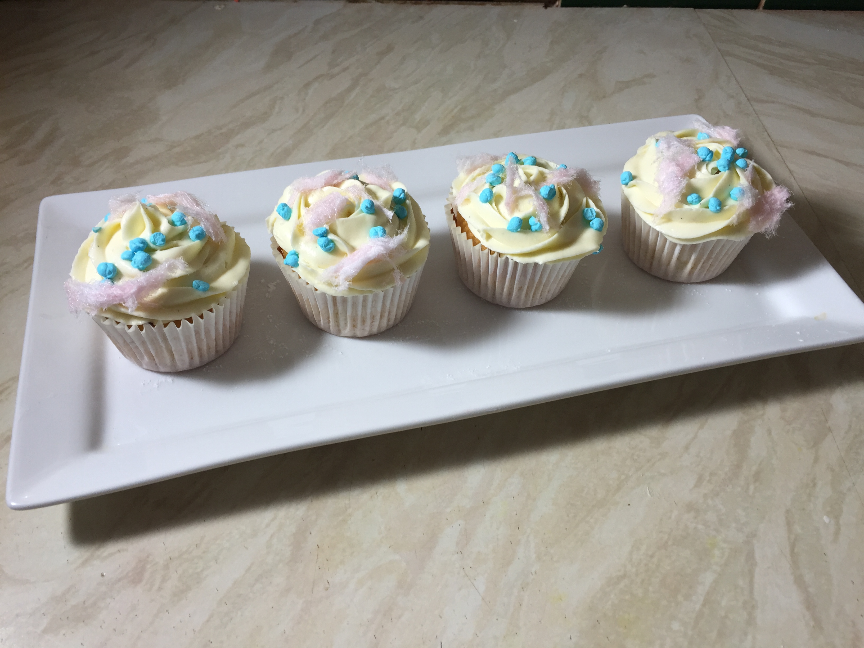 Bubblegum natural foodie flavour cupcakes