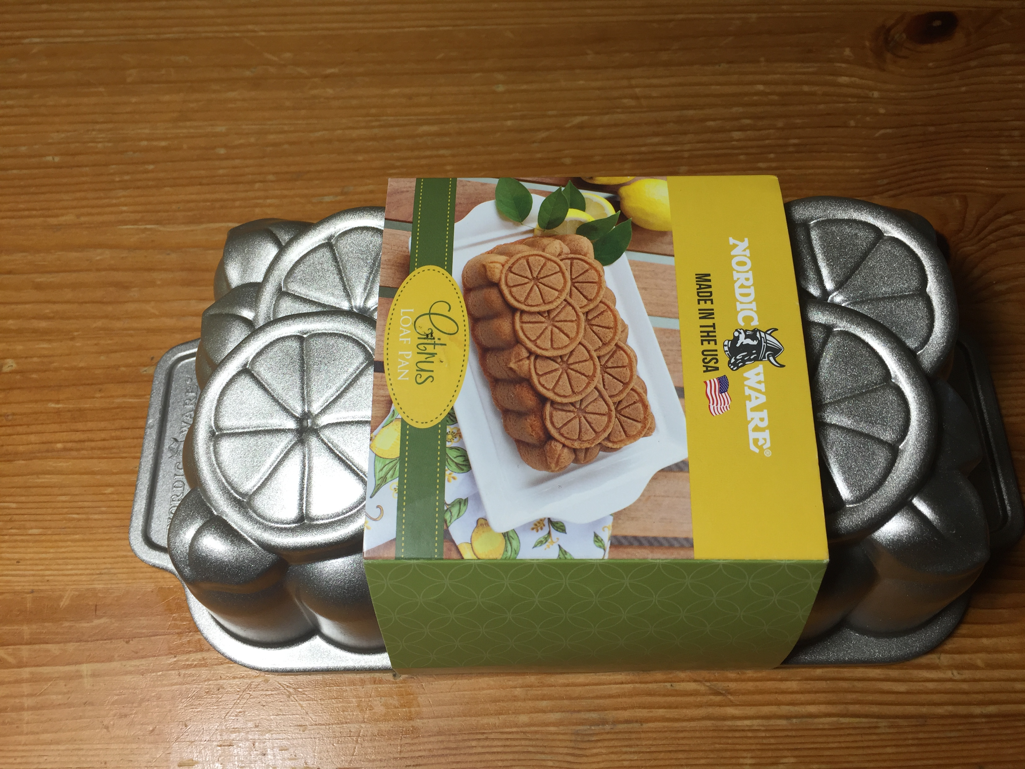 Citrus loaf pan nordicware uk