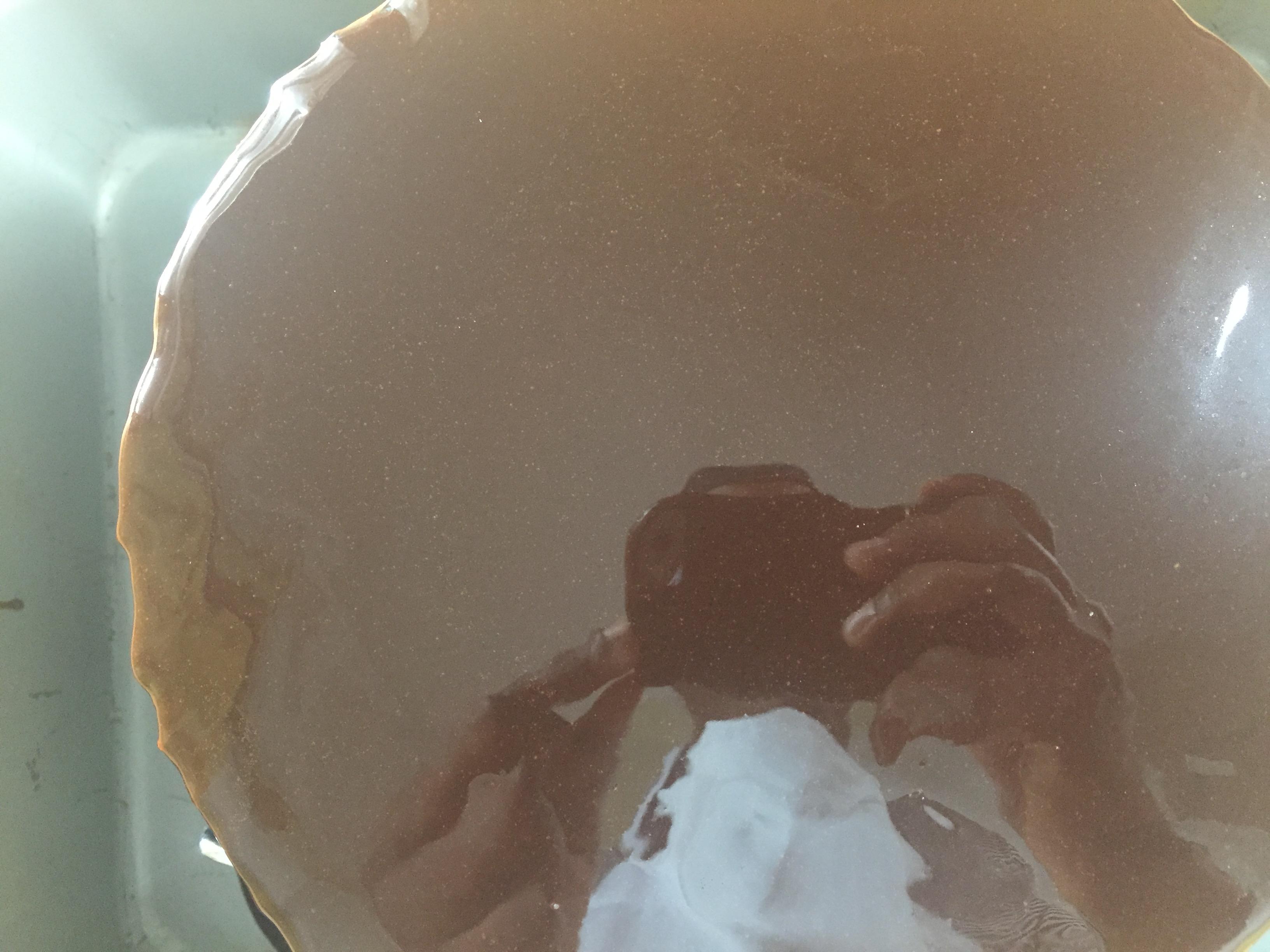 easy chocolate mirror glaze
