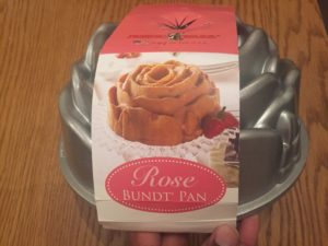Nordic Ware U.K rose bundt tin