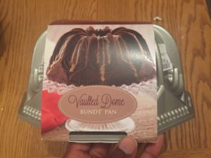 Nordic Ware U.K Vaulted Dome bundt tin