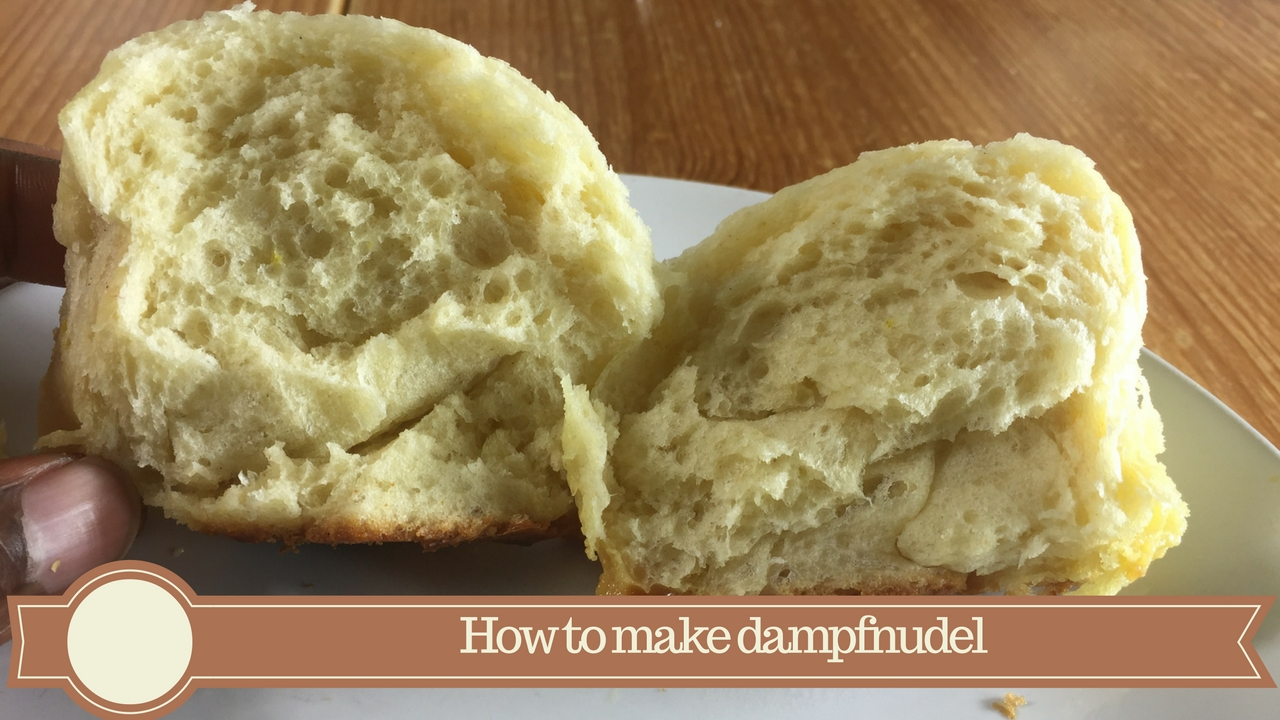 how to make dampfnudel