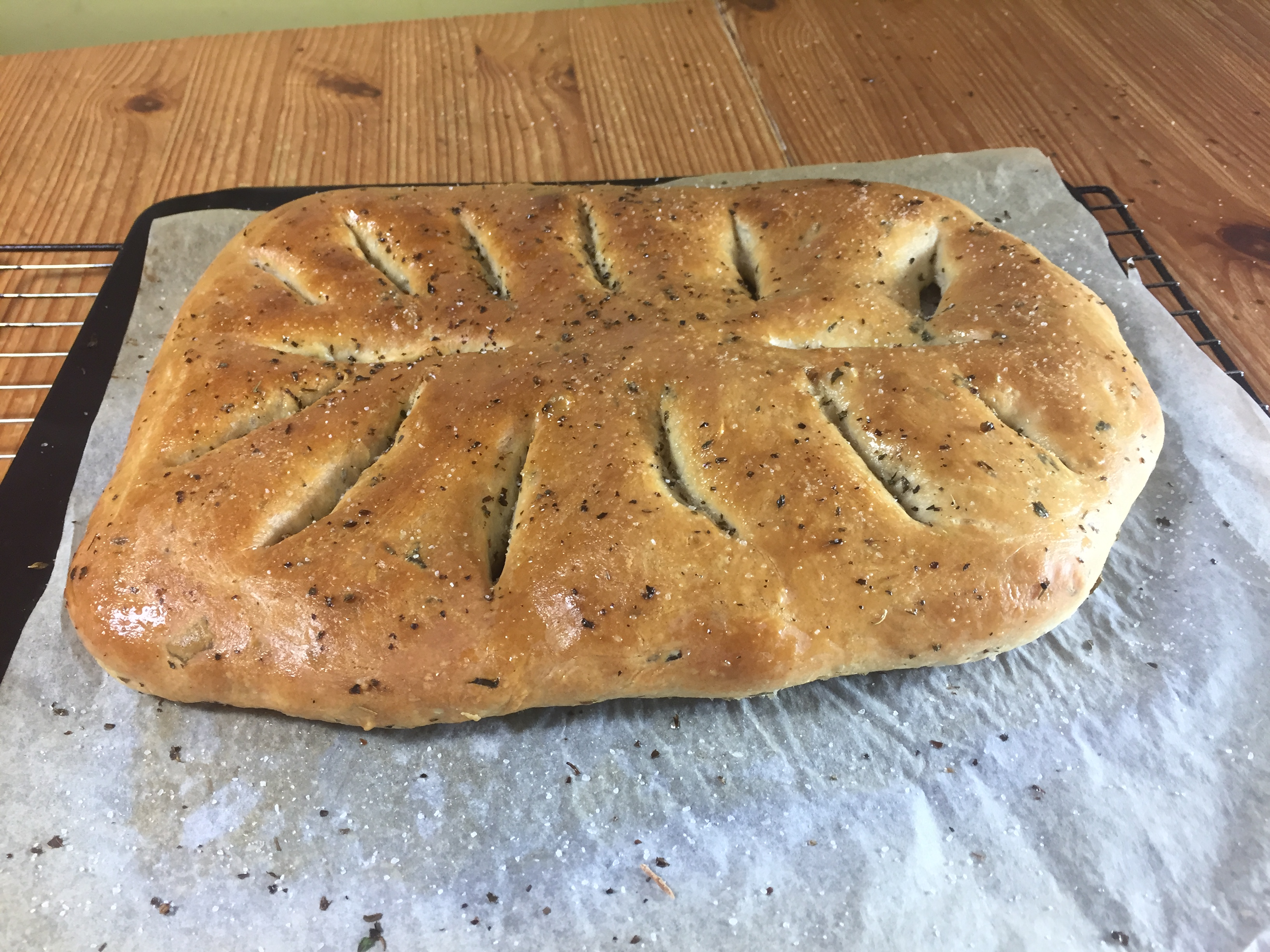 How to bake Fougasse Bread - meadow brown bakery