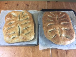how to make Fougasse bread - meadow brown bakery