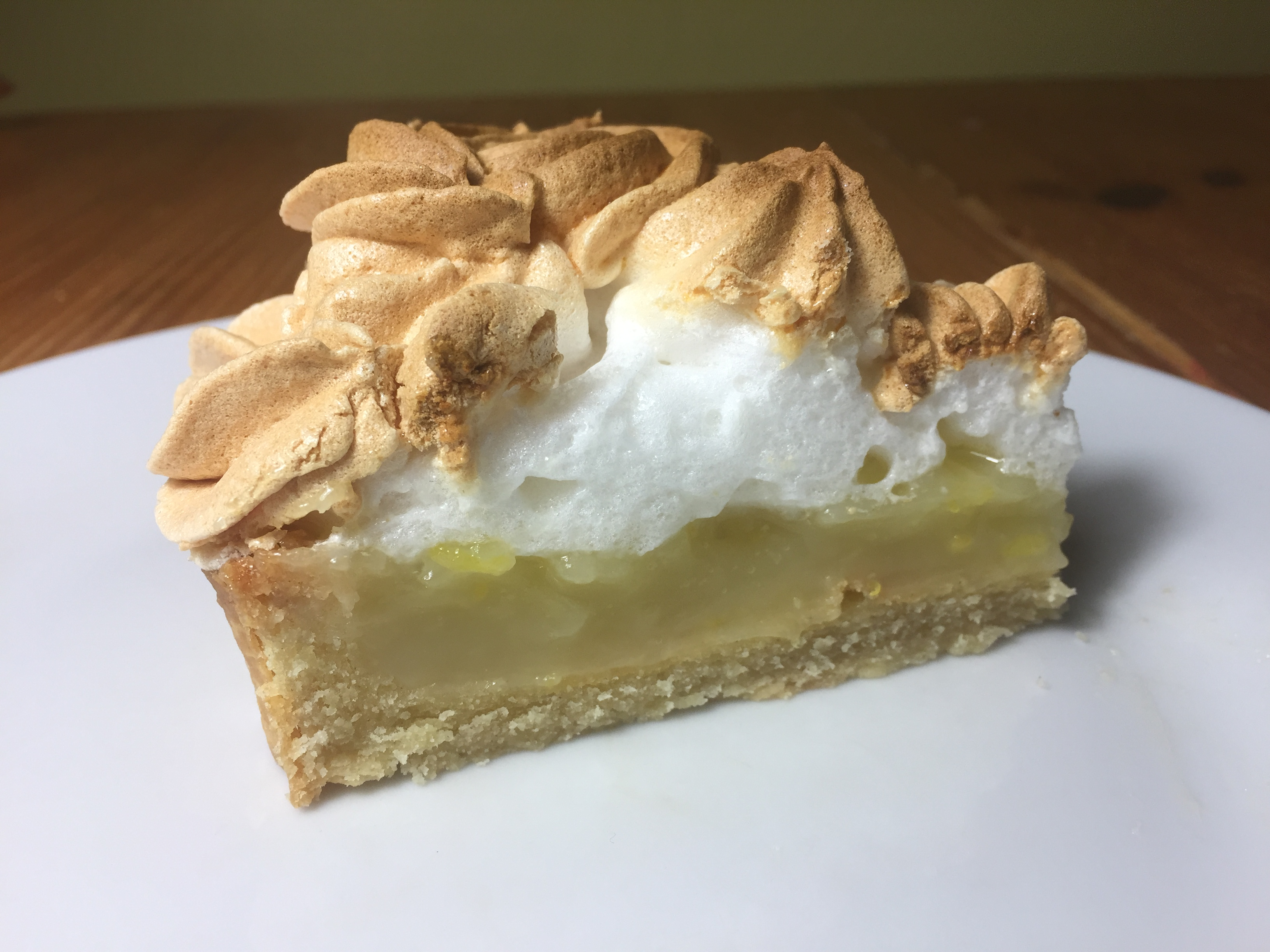 Lemon meringue pie - meadow brown bakery
