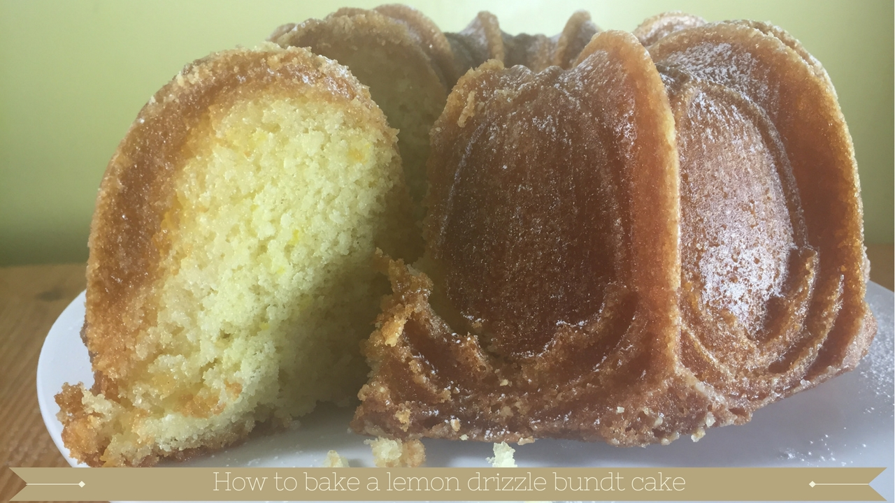 Lemon Drizzle Bundt Cake Meadow Brown Bakery