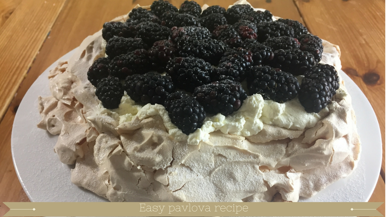 How to bake a pavlova simple chewy easy meadow brown bakery
