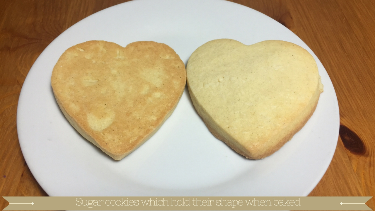 Sugar cookies that hold their shape when baked - meadow brown bakery