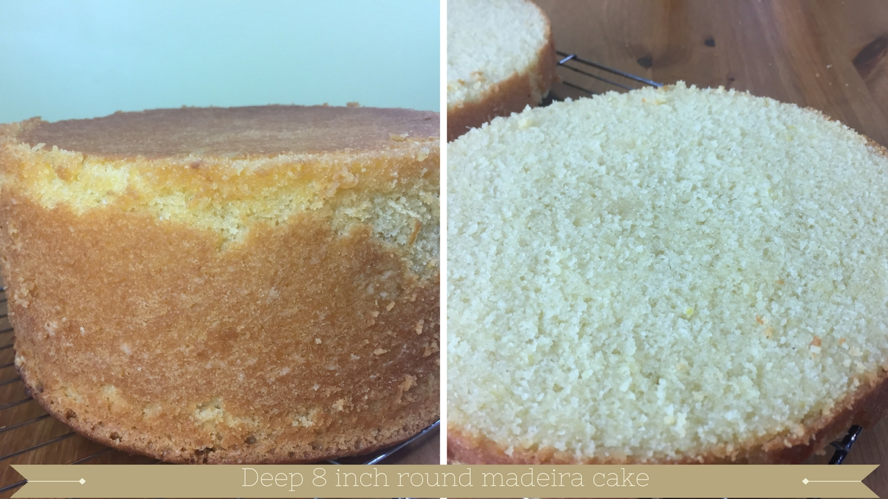 bake a deep 8 inch round madeira cake - meadow brown bakery