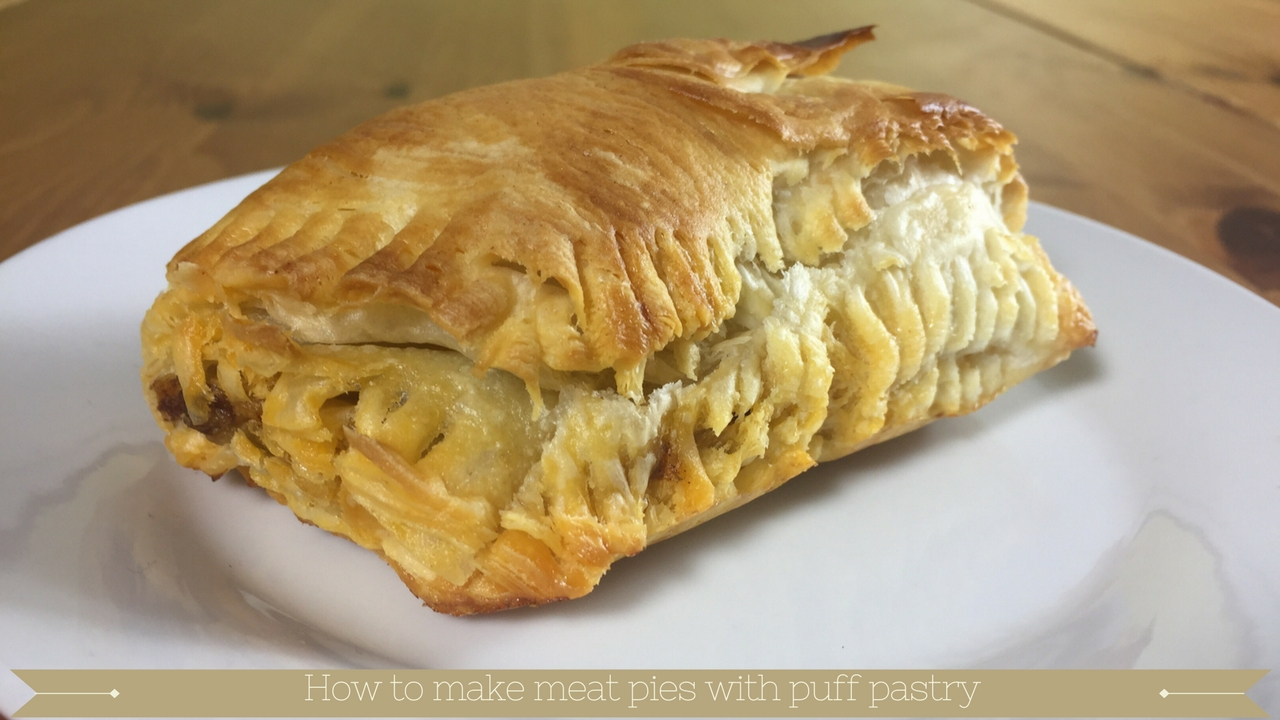 Make steak pies with puff pastry top and bottom - Meadow ...
