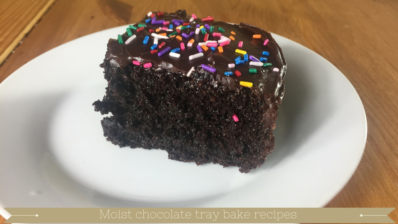 chocolate tray bake recipes uk - meadow brown bakery