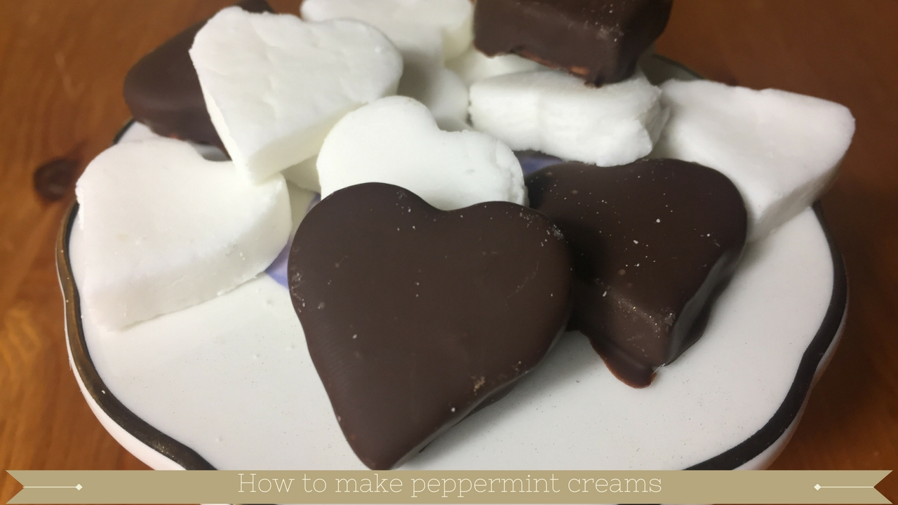 How to make peppermint creams - meadow brown bakery