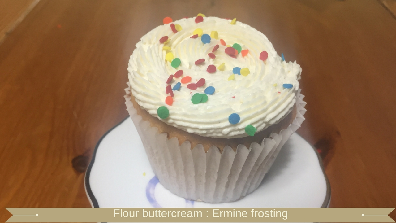 Flour buttercream - ermine buttercream
