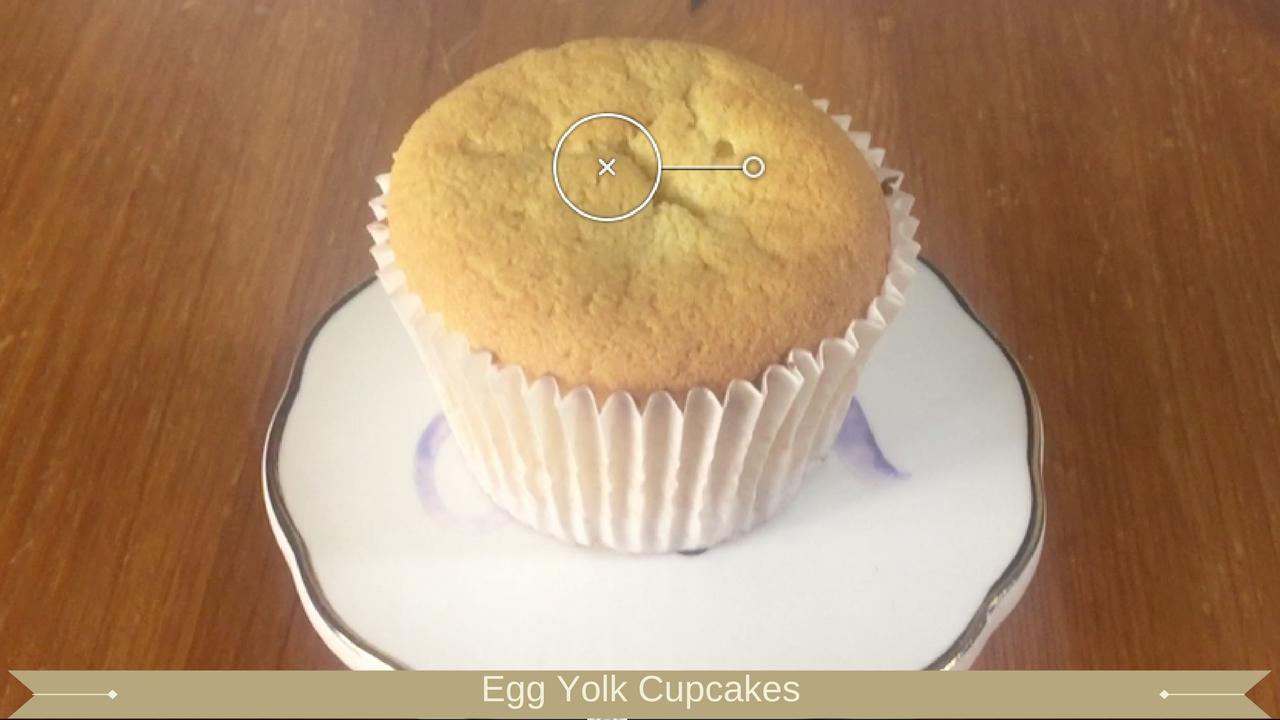 Egg Yolk Cupcakes - Meadow Brown Bakery