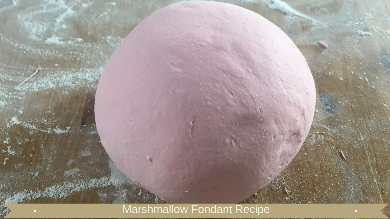 Marshmallow fondant recipe - Meadow Brown Bakery
