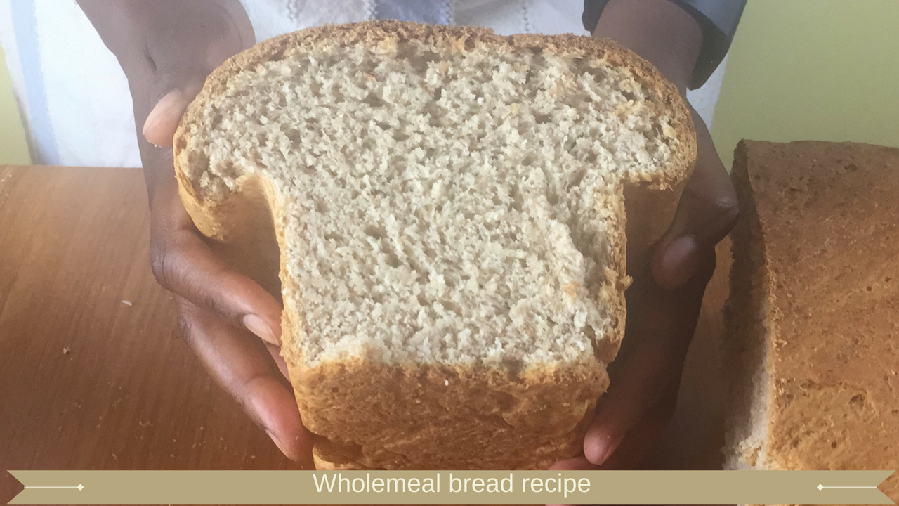 Wholemeal bread recipe - meadow brown bakery