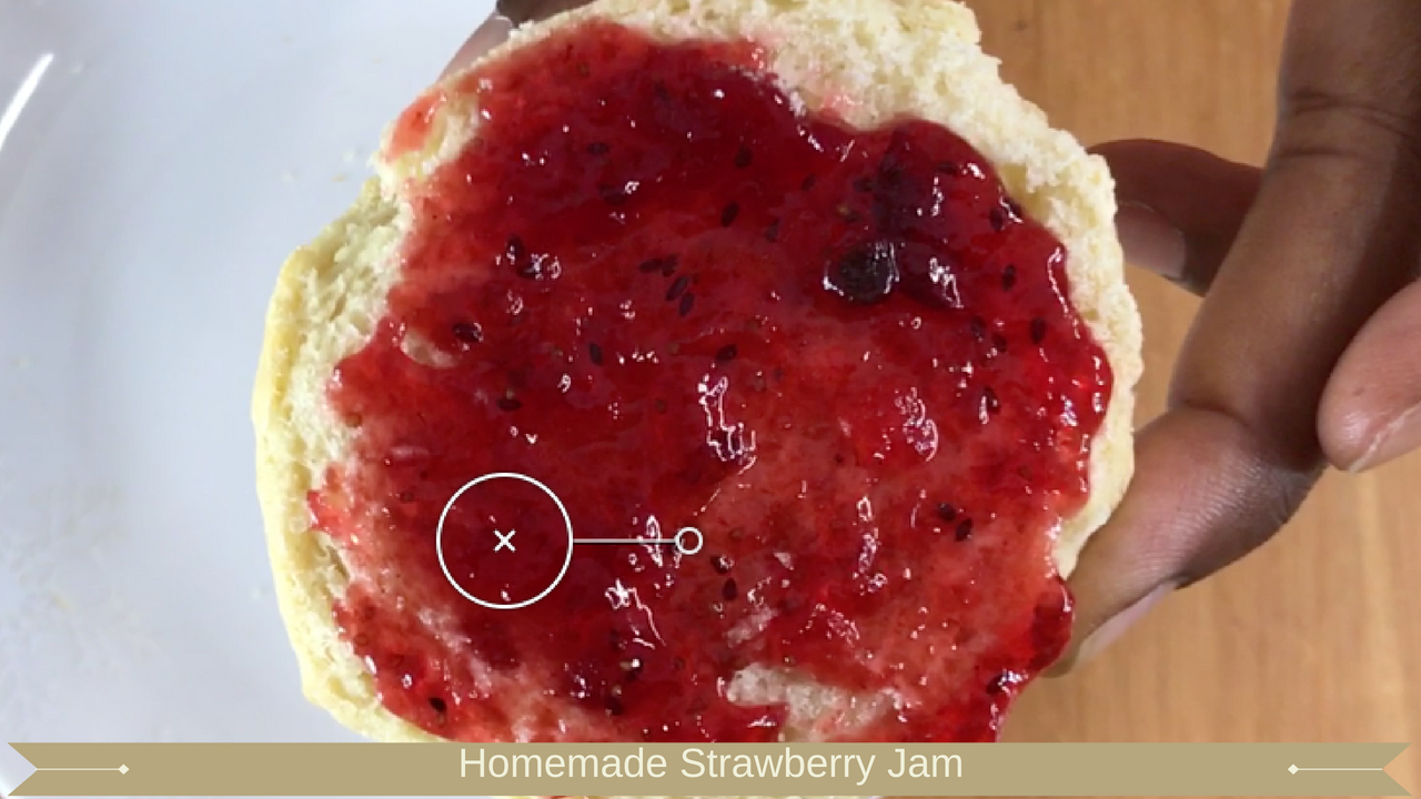 Homemade Strawberry Jam - Meadow Brown Bakery