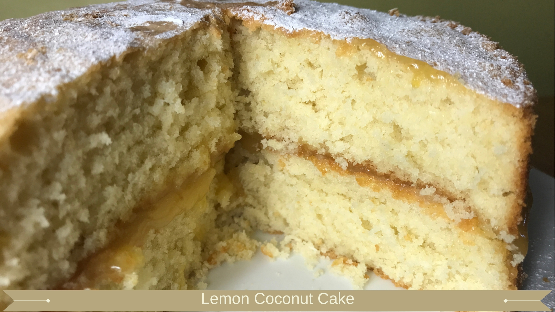 Lemon Coconut Cake - Meadow Brown Bakery