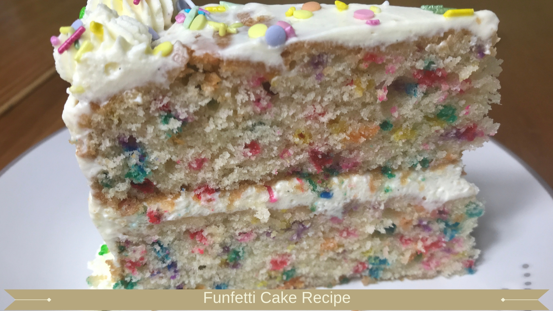 Funfetti Cake Recipe - Meadow Brown Bakery
