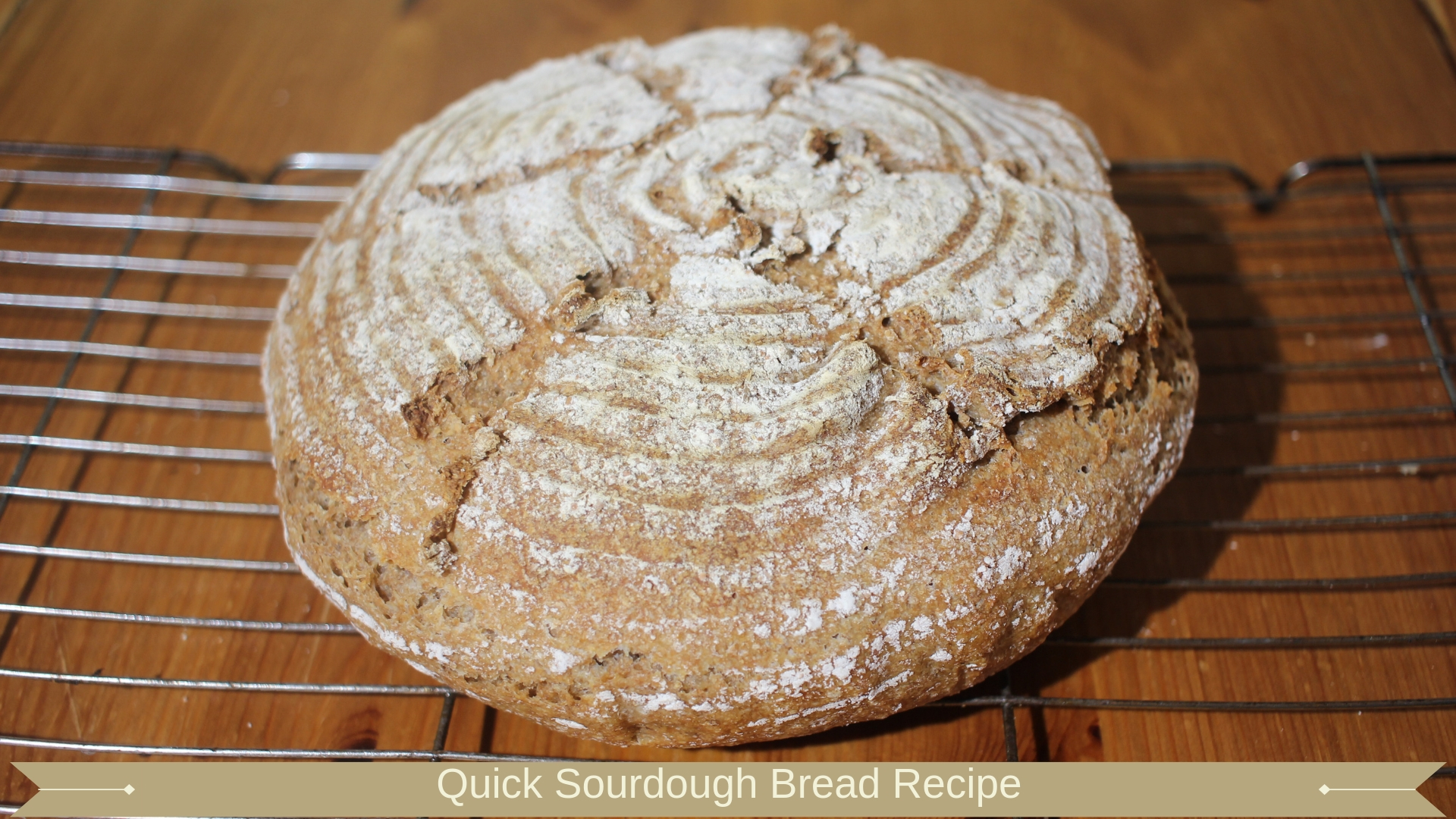 Quick Sourdough Bread Recipe : Meadow Brown Bakery