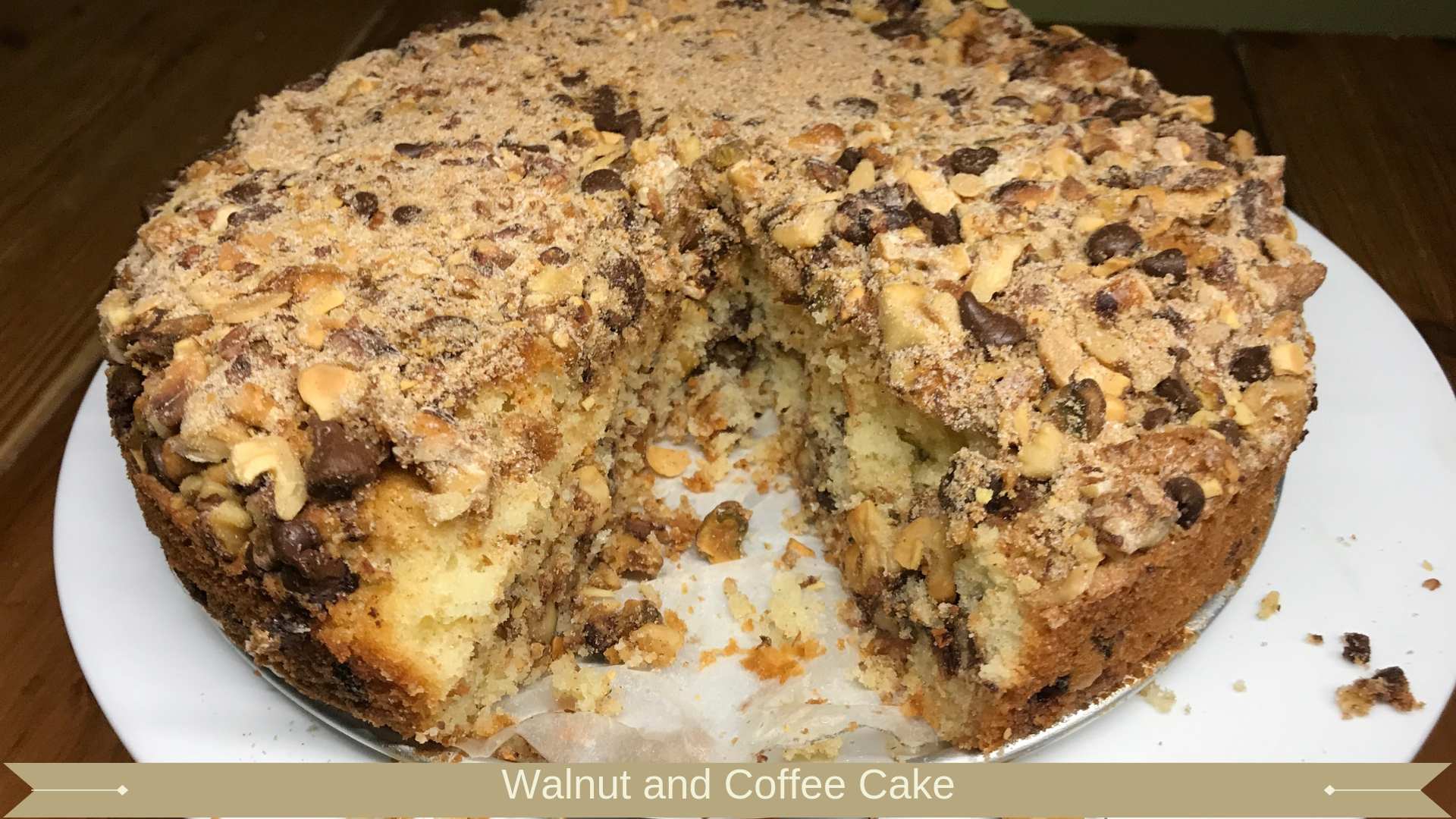 Walnut and Coffee Cake : Meadow Brown Bakery