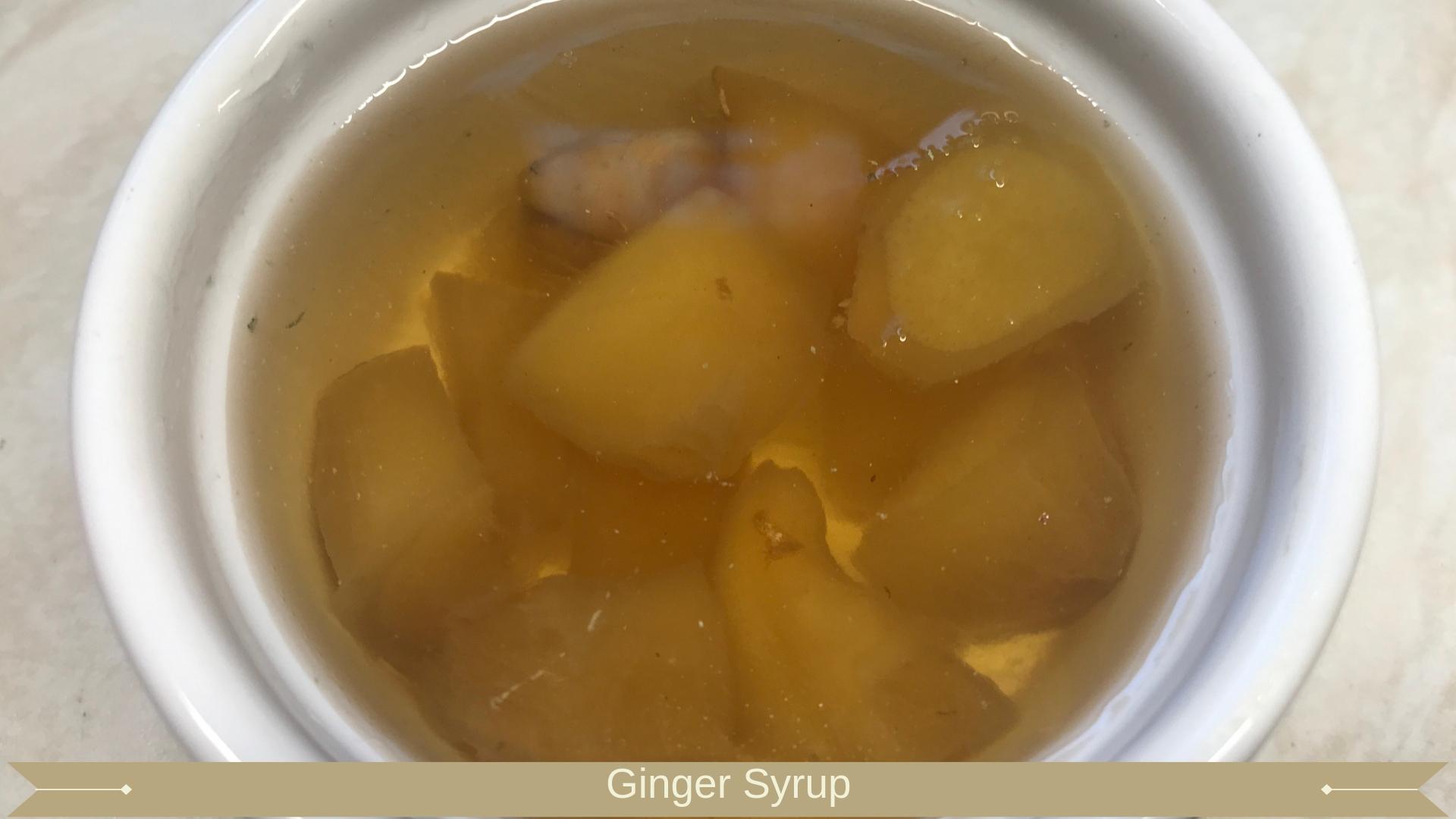 Ginger Syrup : Stem ginger or root