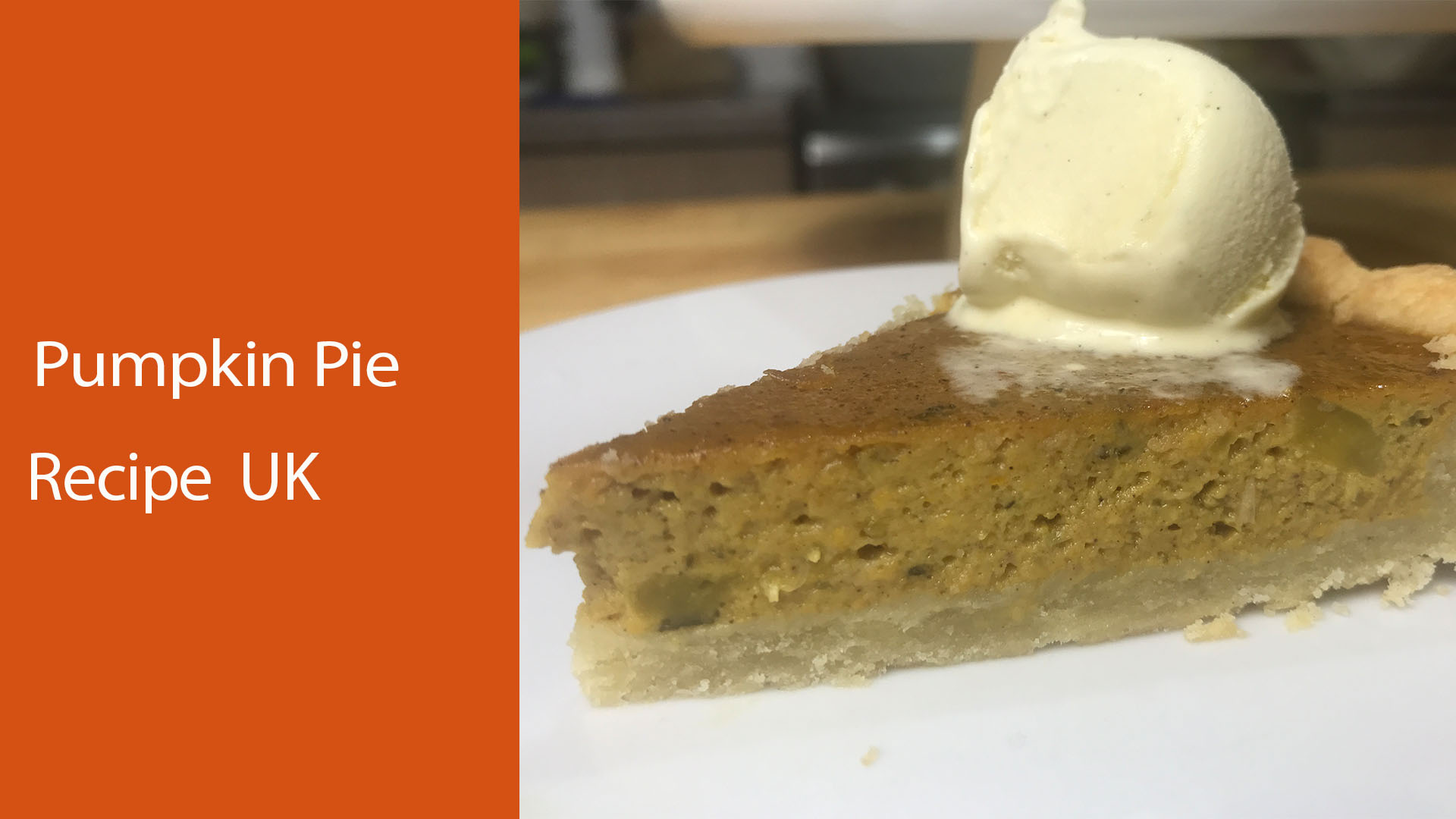 pumpkin pie recipe uk