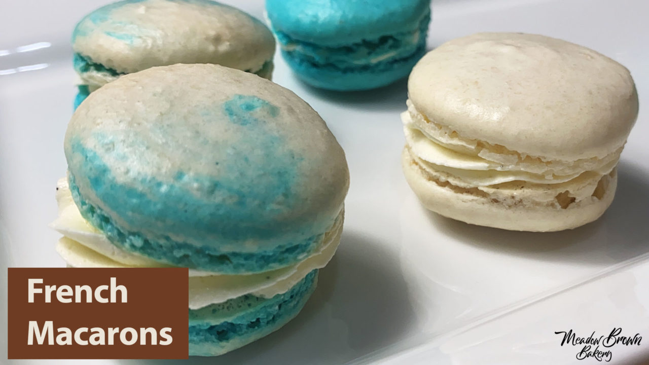 French macarons - Meringue Course for Beginners