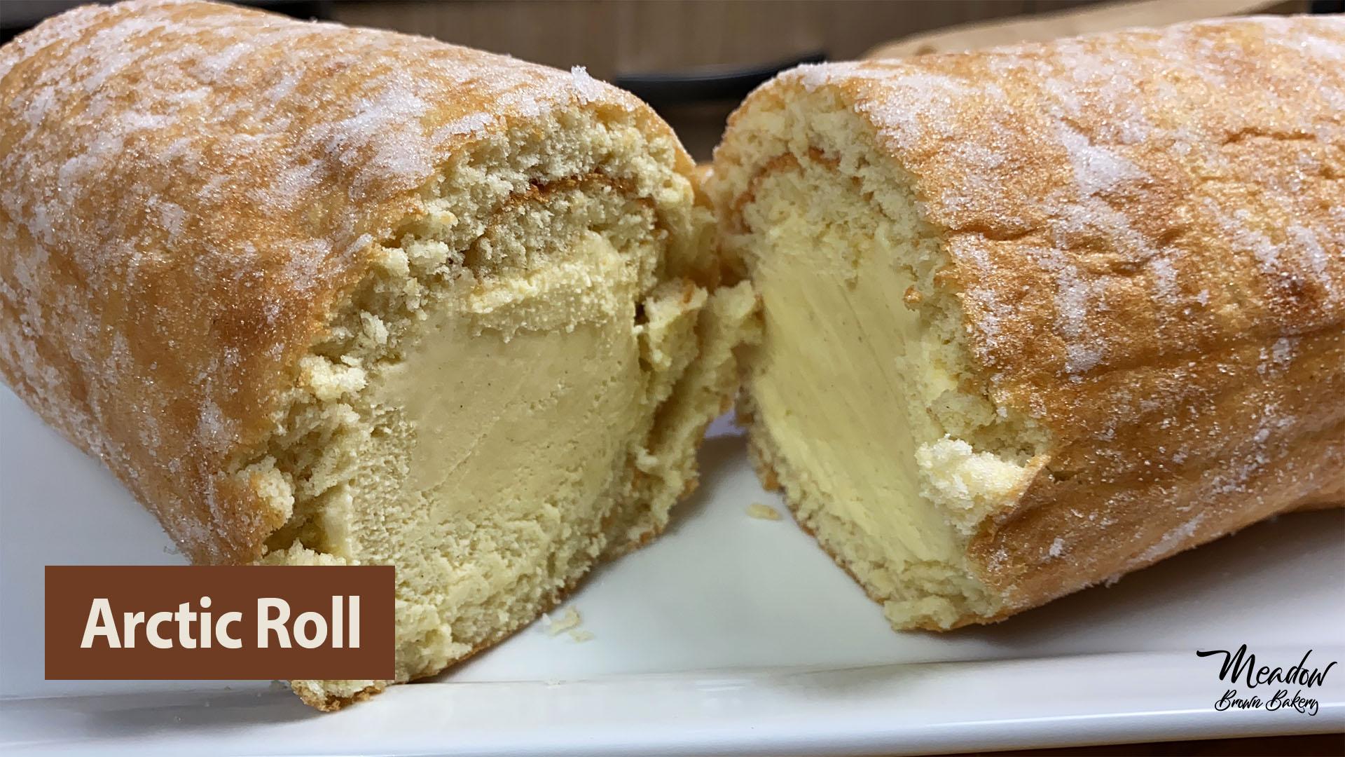 Arctic roll ice cream cake British Desserts