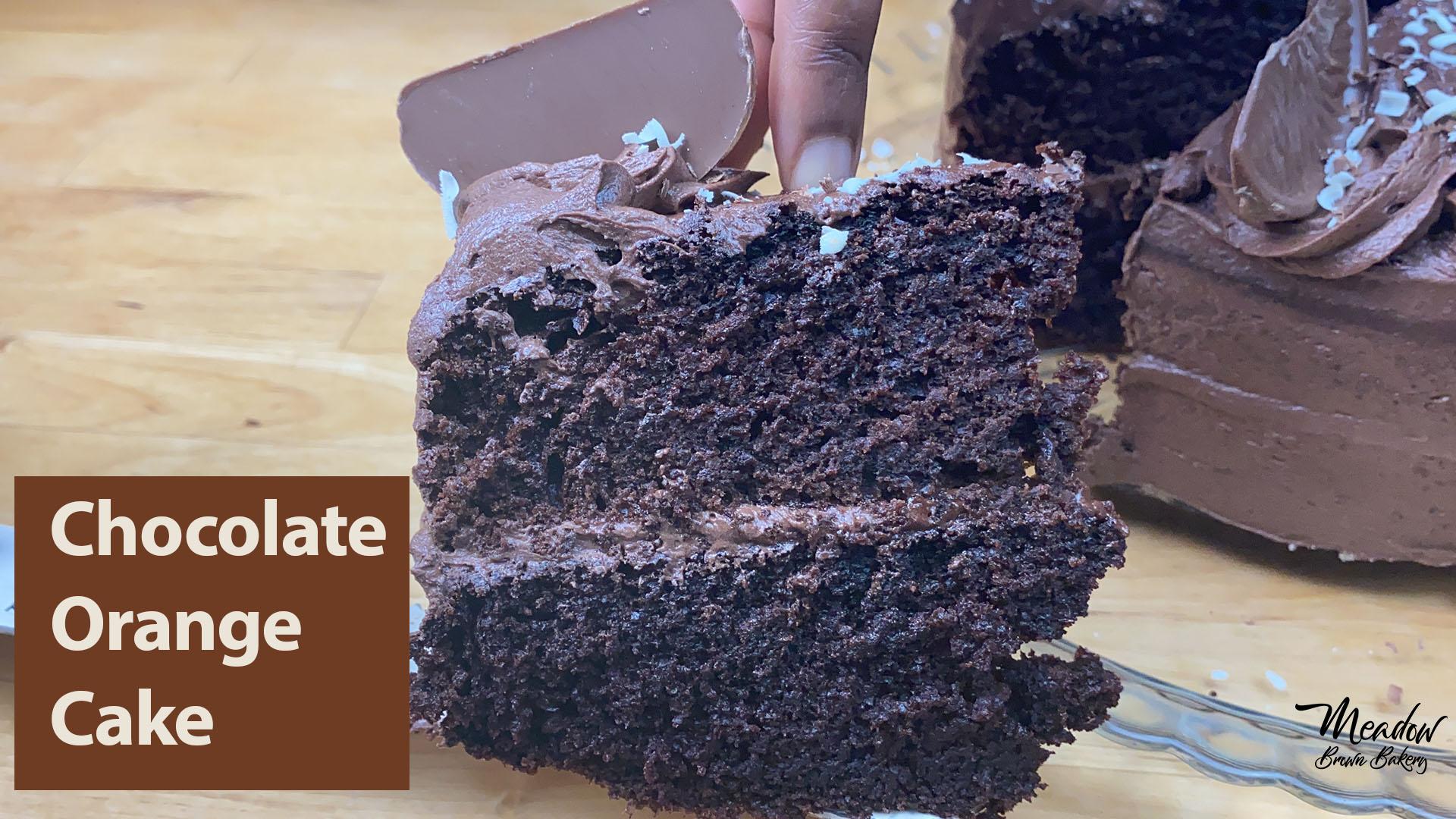 Terrys chocolate orange cake