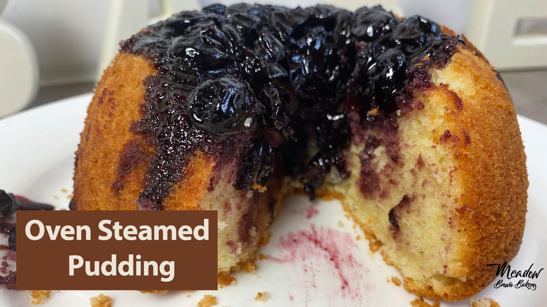 how to steam a pudding in the oven