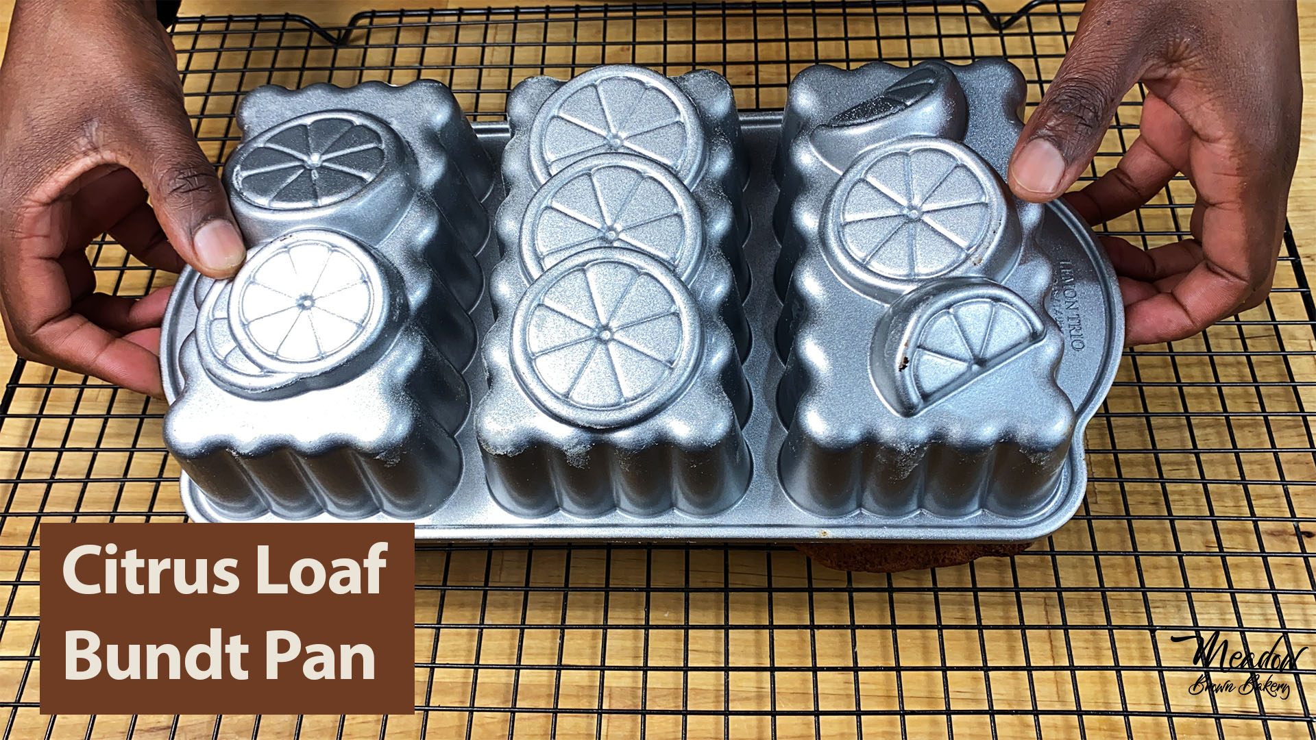 citrus loaf bundt cake