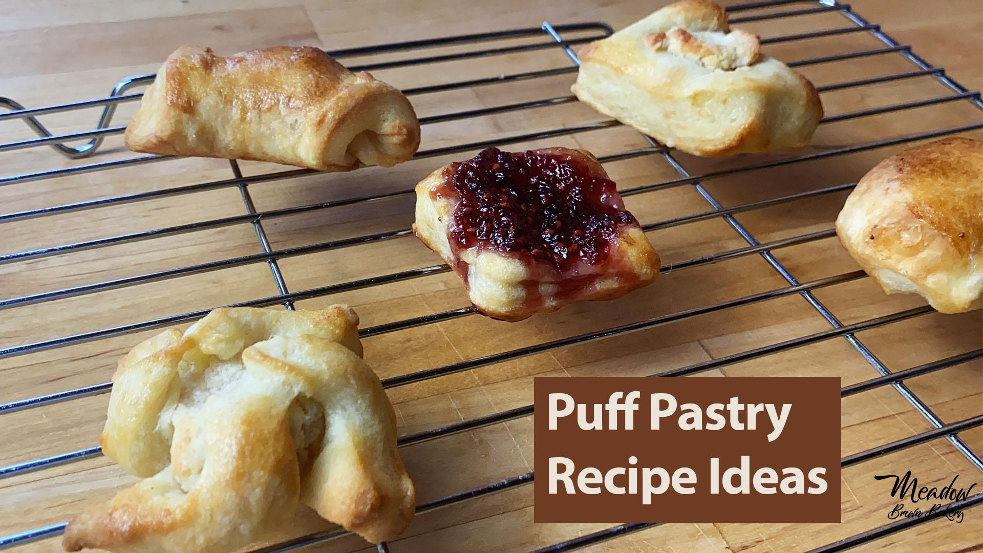 Sweet puff pastry recipe ideas uk